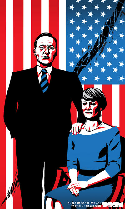 House of Cards Season 3 fan art by DoomCMYK