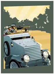 Renault Mle. 1914 By MercenaryGraphics by redarmyscreaming