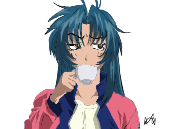 Kaname Chidori, casual. by TheMerthyrRiot