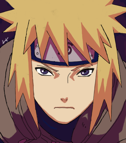 Minato Namikaze - The Fourth Hokage by TheMerthyrRiot