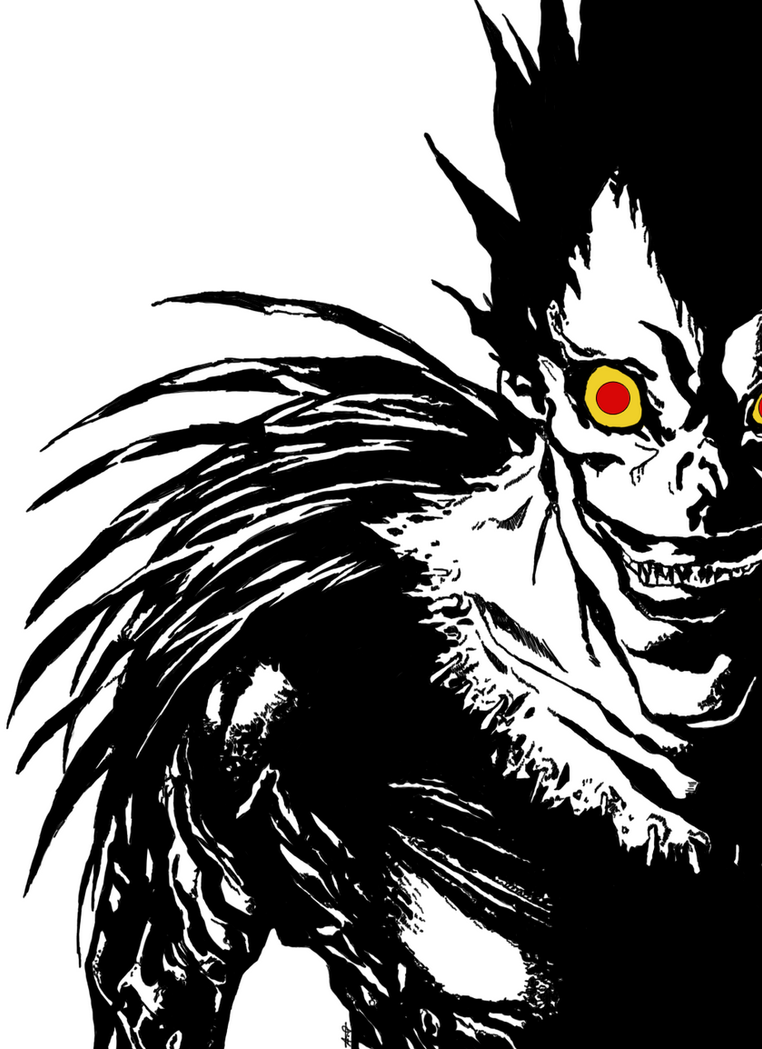 Ryuk by TheMerthyrRiot on DeviantArt