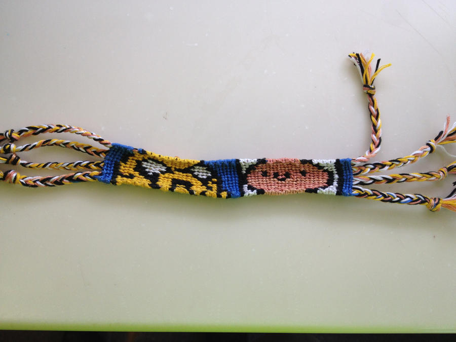 string bracelet by beet17