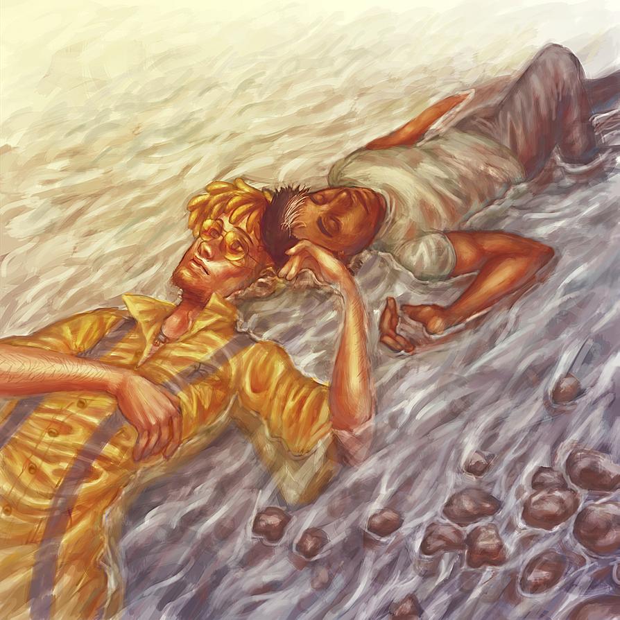 Down the river by merkerinn