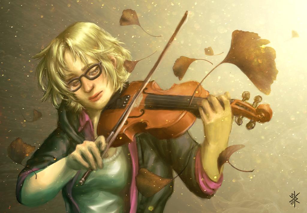 Memories of a broken violin by merkerinn