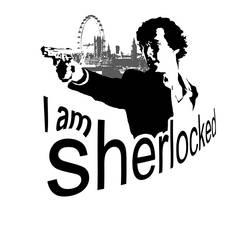 I am SHERlocked T-Shirt design