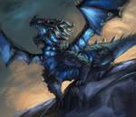 Day #32 Ice Dragon