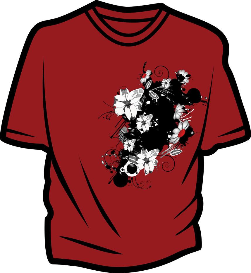 Shirt design sample - Sample Shirt Design By Vectorfreak