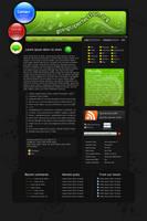 WordPress theme for my blog by Kaczlawo