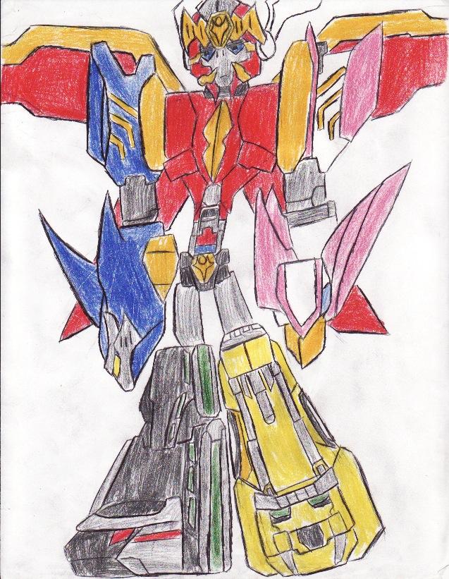 MZR: Gosei Great Megazord by bigtimbears