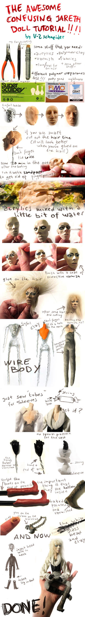 Jareth Doll Tutorial by V-2schneider