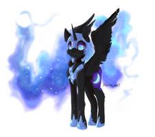 [Fan Art] Nightmare Moon by Yunityart