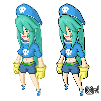 Captai Mint - Iso Pixel by SolII