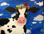 Lovable Cow