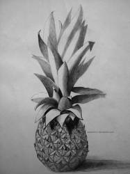 Pencil'd Pineapple by aspirin111