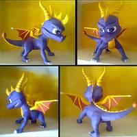 Spyro papercraft by LordBruco