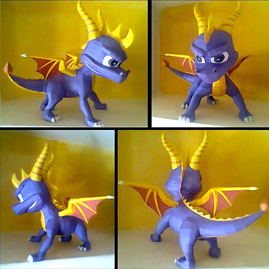 Spyro papercraft