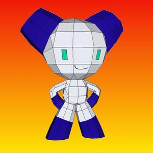 Robotboy papercraft