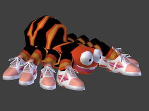 Squitter the spider 3D model