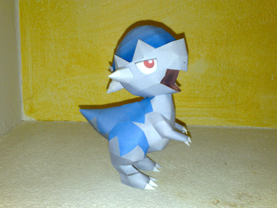 Cranidos papercraft by LordBruco