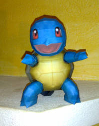 Squirtle papercraft