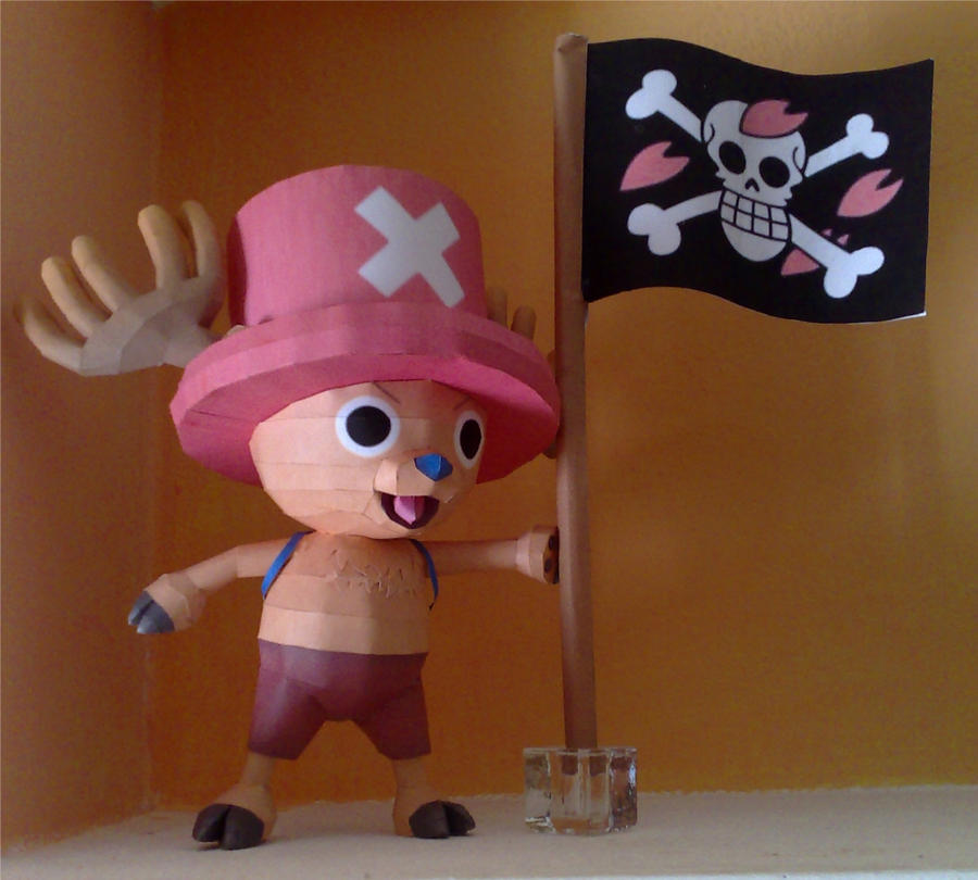 Chopper papercraft by LordBruco