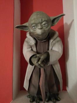 Yoda papercraft