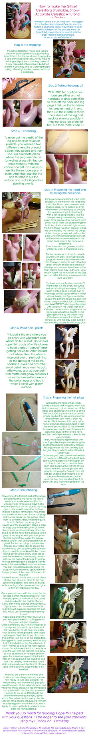 Brushable Celestia - Tutorial by DeeKary