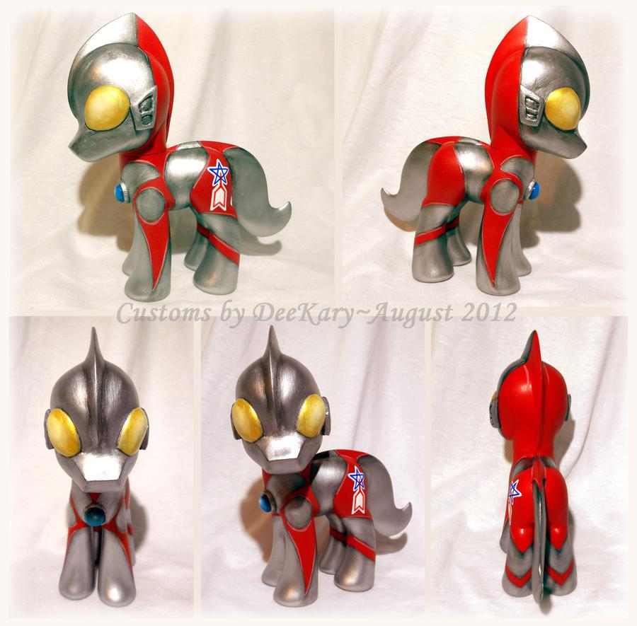 UltraMane - Ultraman x MLP crossover custom by DeeKary