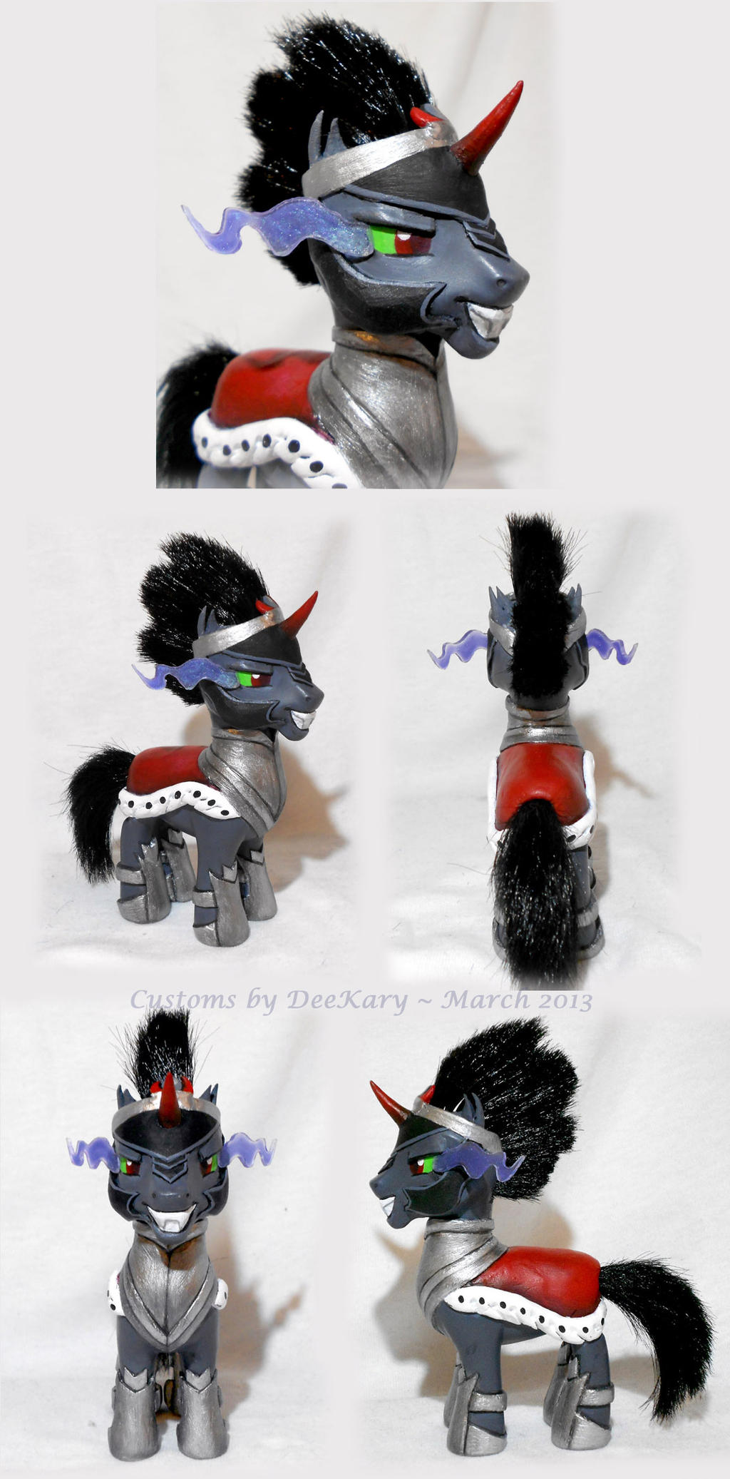 Brushable King Sombra by DeeKary