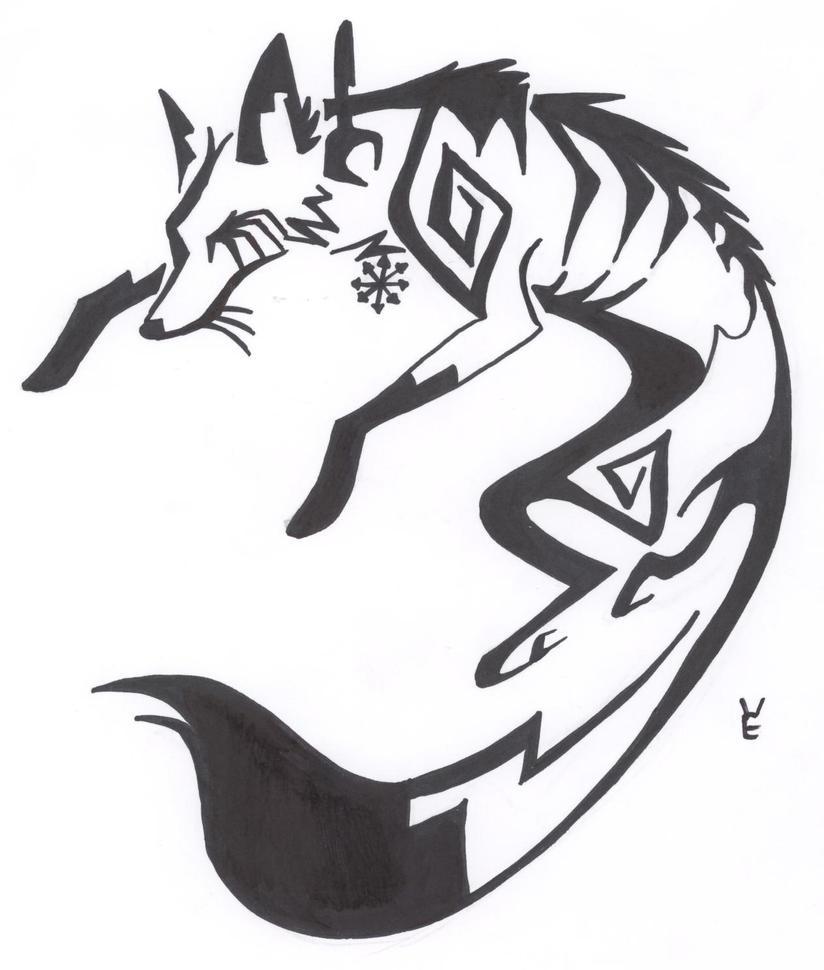 Running Fox Tattoo Auddie Fox Tattoo by Xemmi