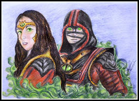 Ermac and Jeifara