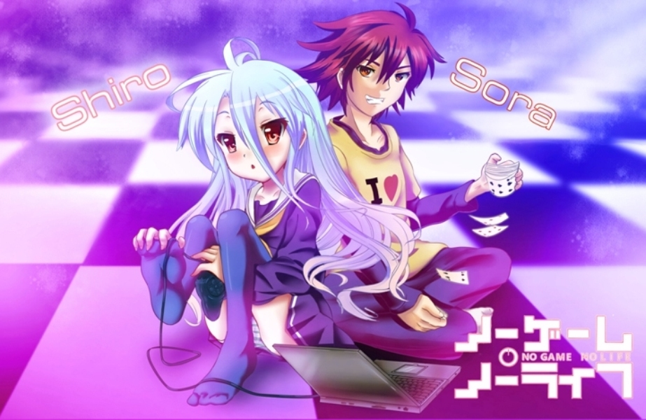 no game no life fanart by clouddraw on deviantart