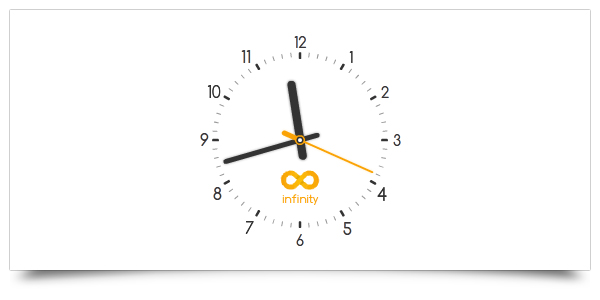 Customizable Analog Clock by flash-infinity on DeviantArt