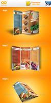 Modern TriFold Brochure Mockup v1