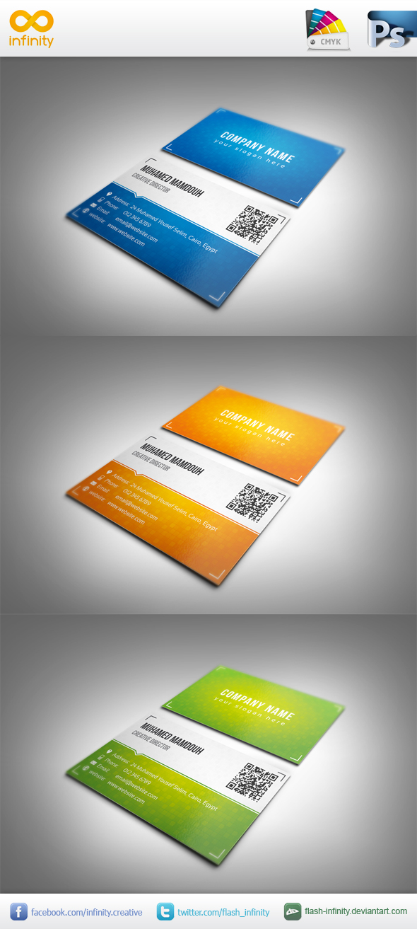 Classic Business Card by flash-infinity