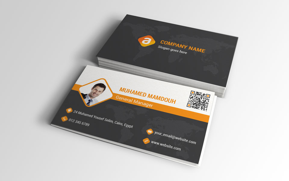 Corporate Business Card 001 by flash-infinity on DeviantArt