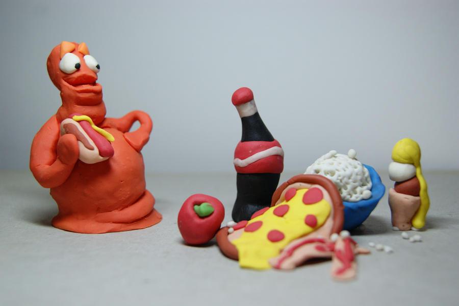 Gluttony by lufreesz