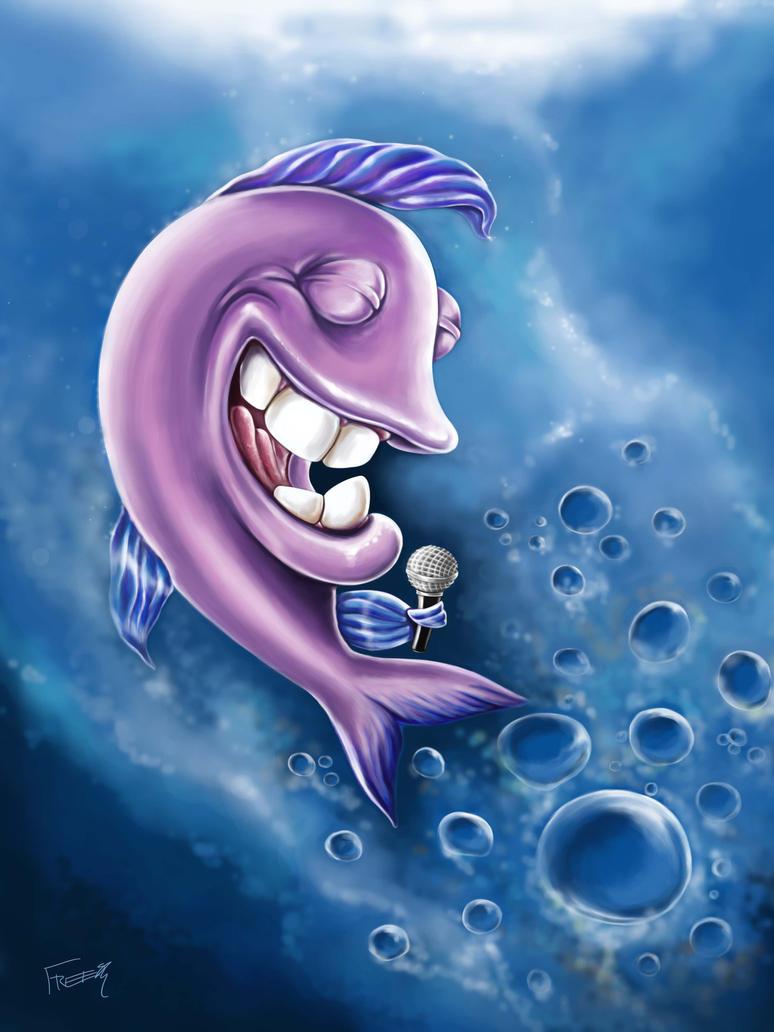 Peixe cantor by lufreesz