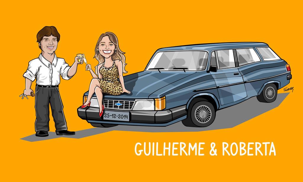 Guilherme e Roberta by lufreesz