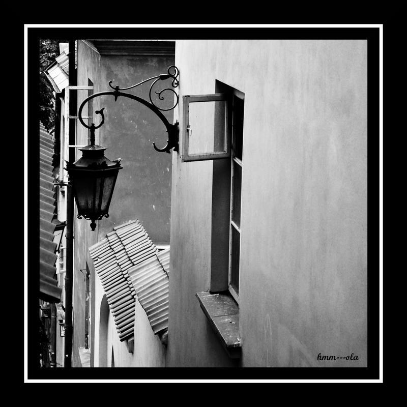 a lantern by hmm---ola