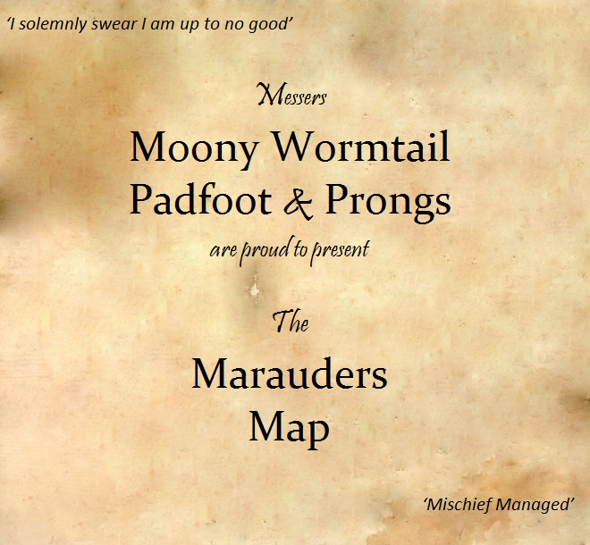 Marauders Map Live Wallpaper