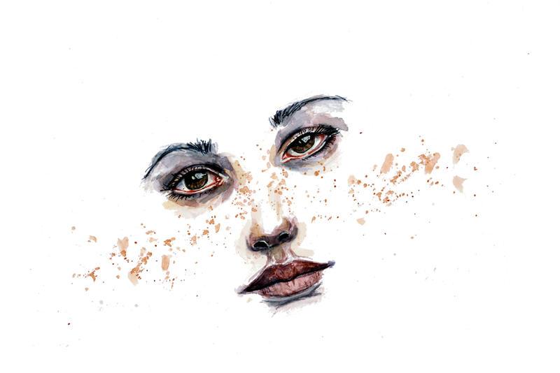 Freckle by guilhem-sals