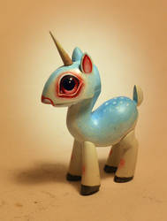 unicorn finders keepers figure by JasonJacenko