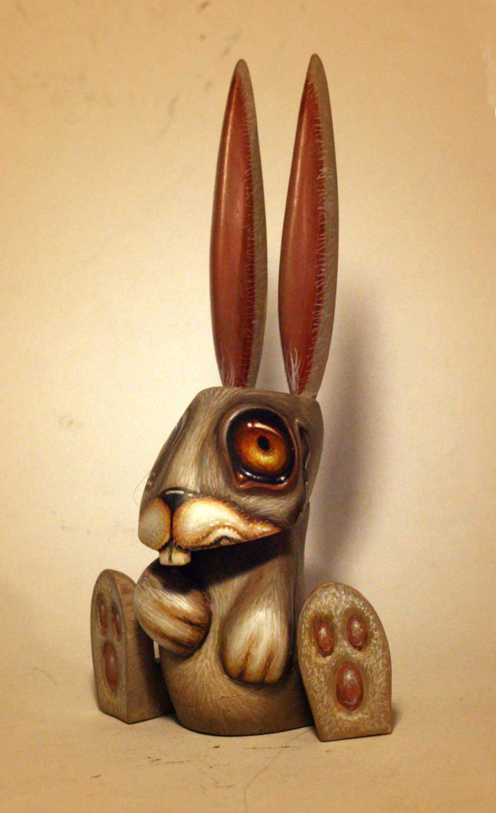 Mr Bunny  custom toy by JasonJacenko