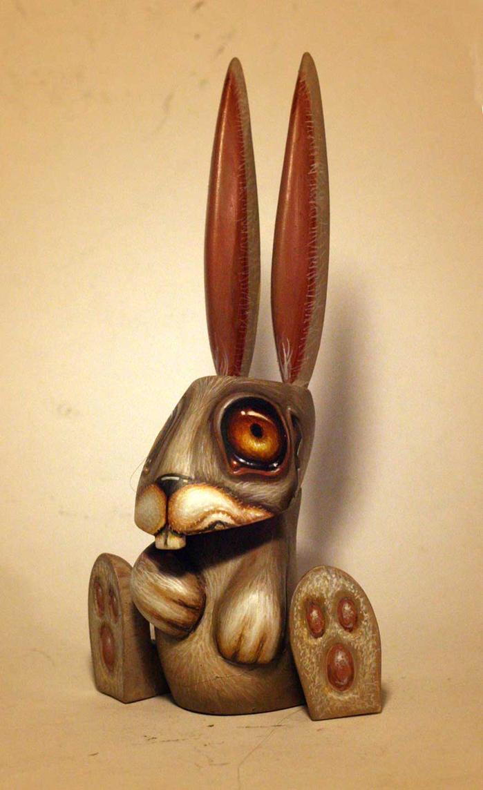 Mr Bunny  custom toy by JasonJacenko
