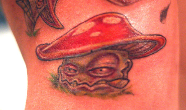 Shroom tattoo by jasonjacenko on deviantart for 13th floor tattoo shop