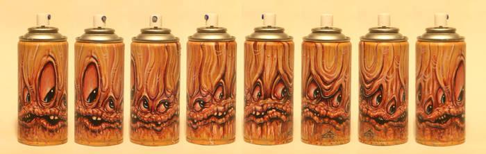 painted spraycan by JasonJacenko