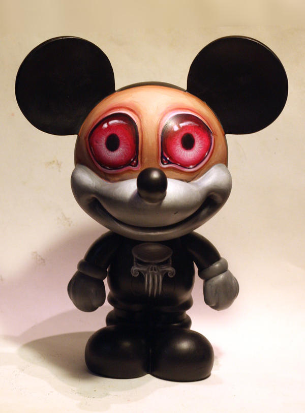 punisher mickey custom by JasonJacenko