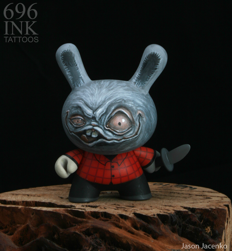 stabbie custom dunny by JasonJacenko