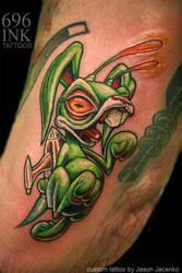 rocket rabbit by JasonJacenko